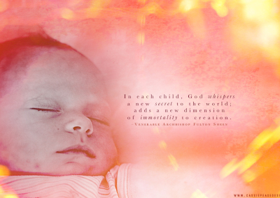 """God Whispers…"" Pro-Life Desktop Wallpaper"