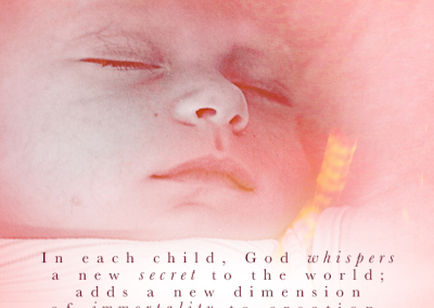 """God Whispers…"" Pro-Life Mobile Wallpaper"