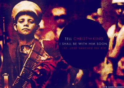 Bl. Jose Luis Sanchez Del Rio Desktop Wallpaper