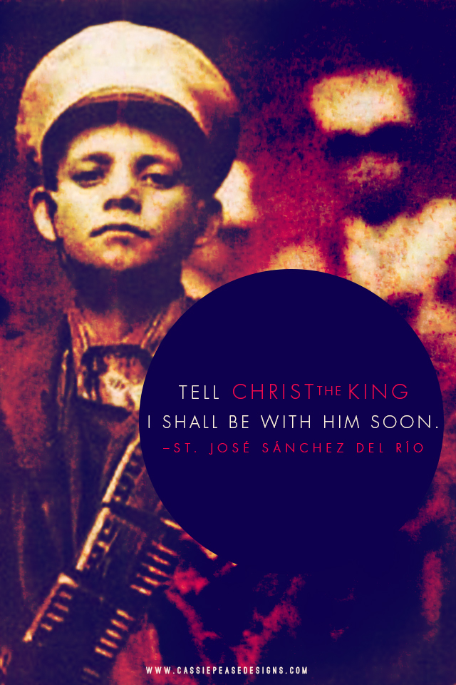 St. Jose Luis Sanchez Del Rio Mobile Wallpaper