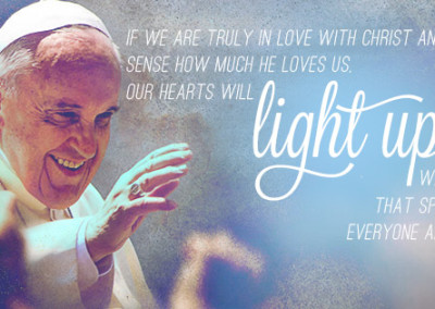 "Pope Francis ""Light Up"" Coverphoto"