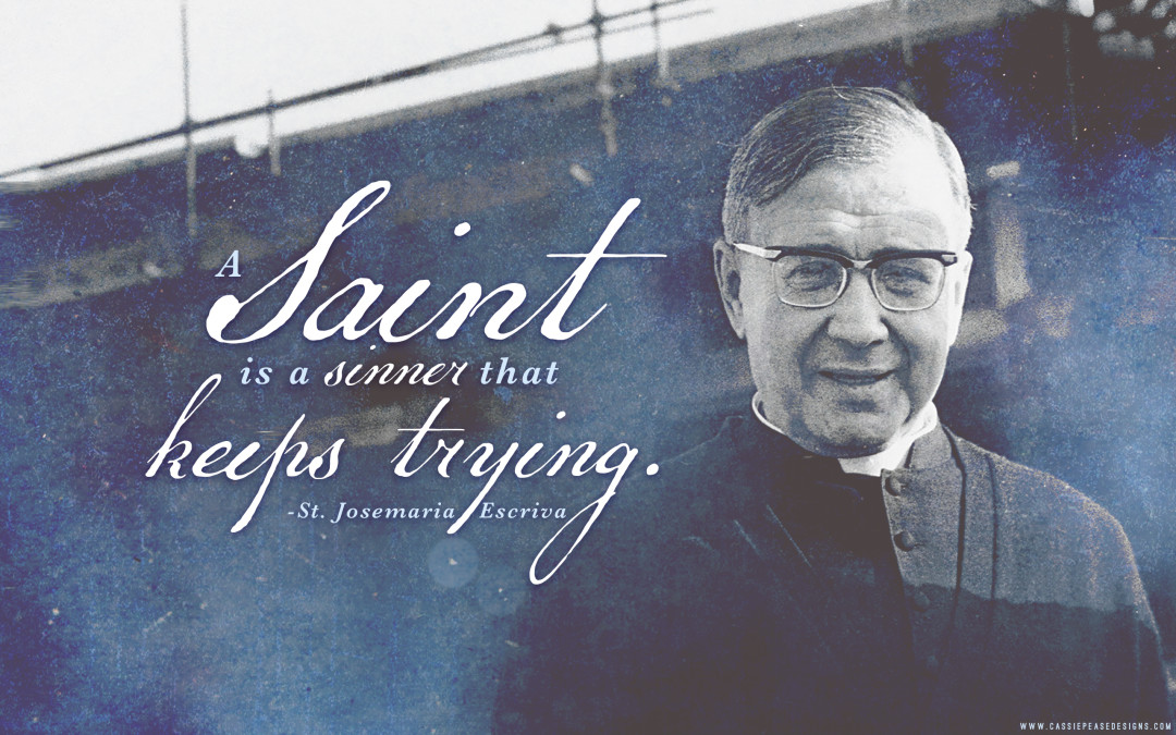 "St. Josemaria Escriva ""Saints"" Desktop Wallpaper"