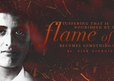 "Bl. Pier Giorgio Frassati ""Flame of Faith"" Coverphoto"