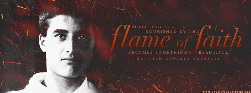 "Bl. Pier Giorgio Frassati ""Flame of Faith"" Coverphoto"
