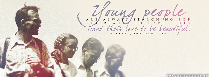 "St. John Paul II ""Young People"" Coverphoto"