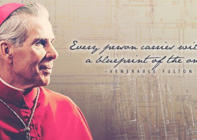 "Ven. Fulton Sheen ""Blueprint"" Coverphoto"
