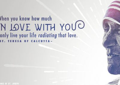 "Mother Teresa ""Radiating Love"" Coverphoto"