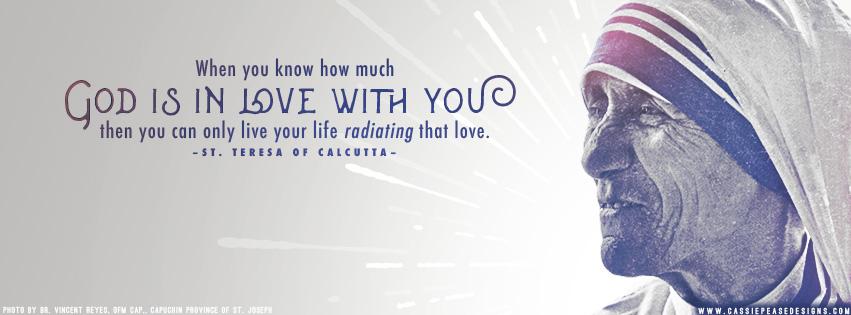 "Mother Teresa ""Radiating Love"" Coverphoto"