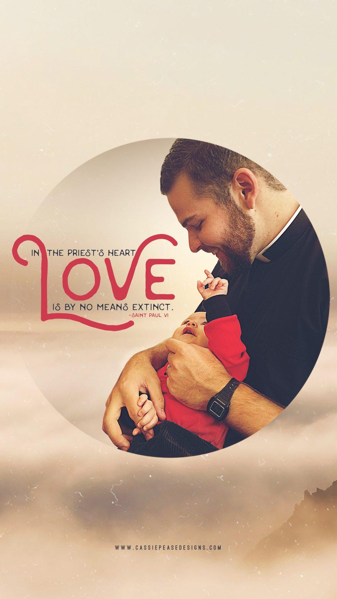 Spiritual Fatherhood Mobile Wallpaper