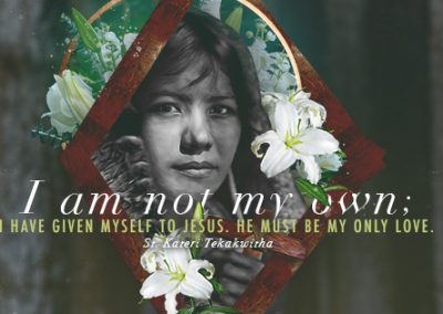 "St. Kateri Tekakwitha ""My Only Love"" Coverphoto"