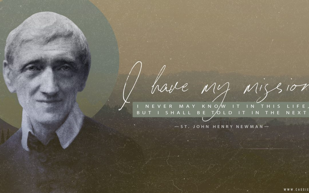 "St. John Henry Newman ""My Mission"" Coverphoto"