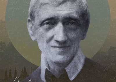 "St. John Henry Newman ""My Mission"" Mobile Wallpaper"