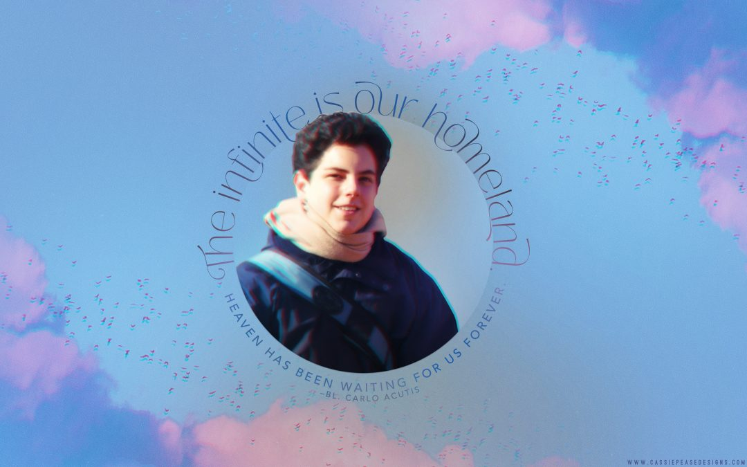 Bl. Carlo Acutis Desktop Wallpaper
